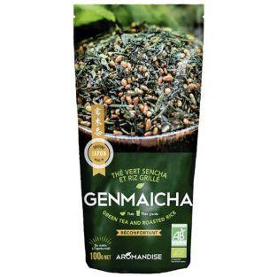 Genmaicha organic green Tea and brown Rice 100 g