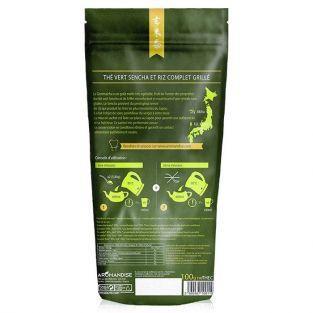 Thé vert Bio et riz complet Genmaicha 100 g