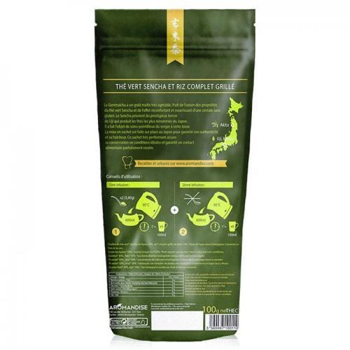 Té verde orgánico y arroz integral Genmaicha 100 g