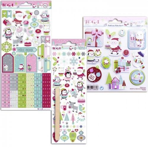 Scrapbooking Kit - Christmas at the North Pole