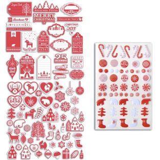 Kit de recortes - Navidad nórdica