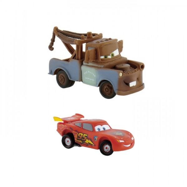 cars 2 figurines flash mc queen mater. Black Bedroom Furniture Sets. Home Design Ideas