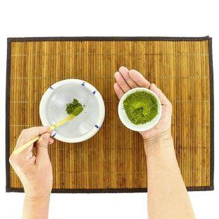 Cuillère à thé Matcha Chashaku