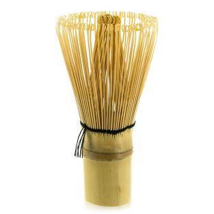 Fouet à thé Matcha 100 brins en bambou