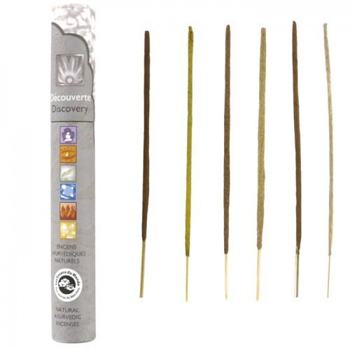 14 natural Ayurvedic incense sticks - Discovery box