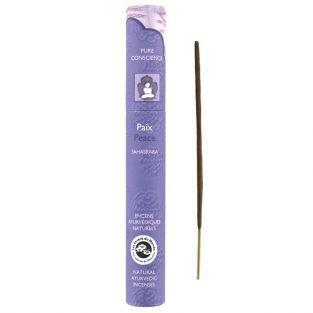 16 bâtonnets d'encens ayurvédique naturel - Paix