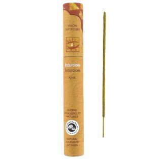 16 bâtonnets d'encens ayurvédique naturel - Intuition