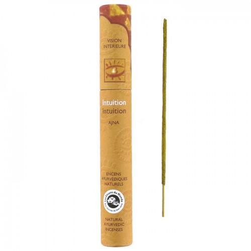 16 natural Ayurvedic incense sticks - Intuition