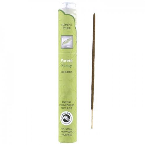 16 bâtonnets d'encens ayurvédique naturel - Pureté
