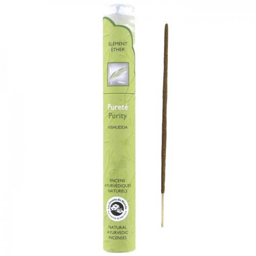 16 natural Ayurvedic incense sticks - Purity