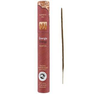 16 bâtonnets d'encens ayurvédique naturel - Energie