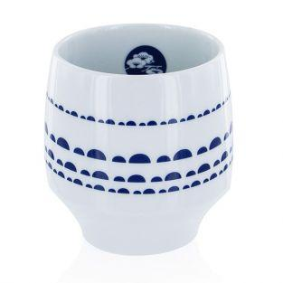 Nara Mug - porcelain with blue design