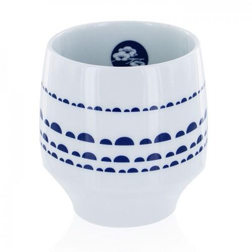 Taza Nara - porcelana con diseños azules