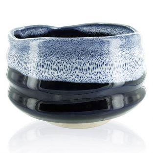 Japanese Ceremonial Bowl Chawan - Blue