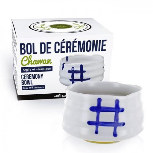 Japanese Ceremonial Bowl Chawan - White