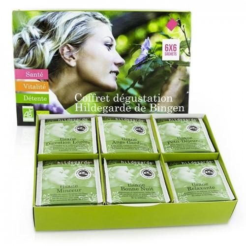 Herbal Discovery Box by Hildegarde de Bingen - 36 Bags