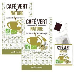 Café verde natural - 40 bolsitas