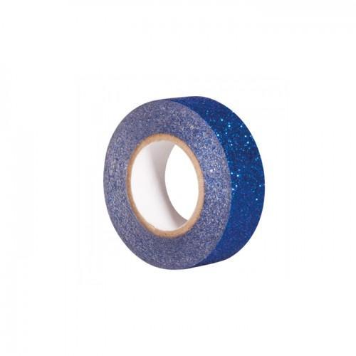 Glitter tape 5 m x 1,5 cm - bleu nuit