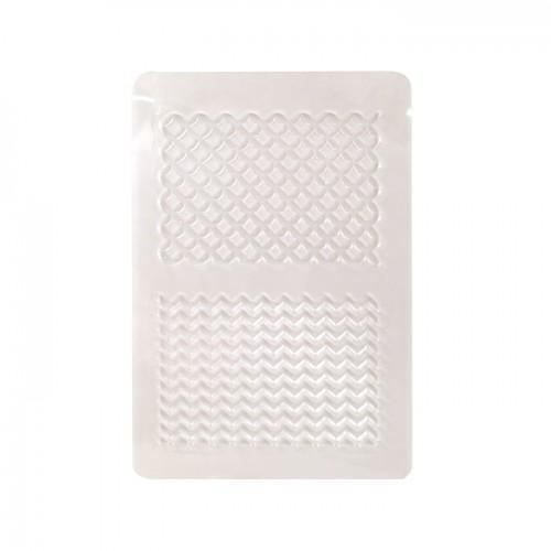 Placa de textura para arcilla polimérica - geométrica