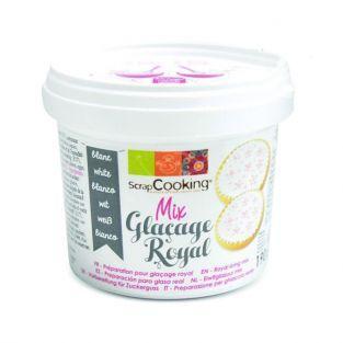 Préparation glaçage royal blanc 190 g