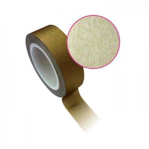 Masking tape 1,5 cm x 10 m - golden