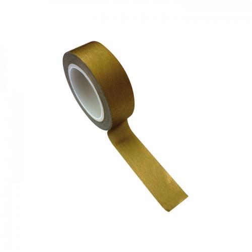 Masking tape 1,5 cm x 10 m - doré
