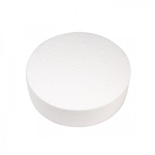 Polystyrene disc Ø 25 cm x 7 cm