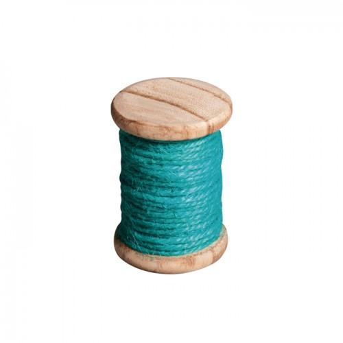 Twine 5 m - turquoise blue