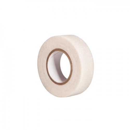 Glitter tape 5 m x 1,5 cm - blanc