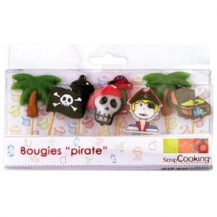 8 Bougies Pirates