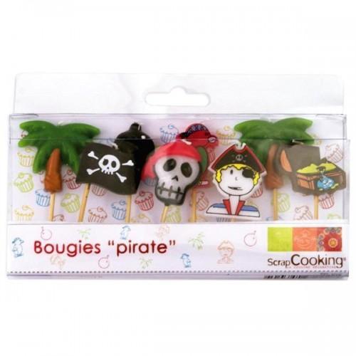 8 Bougies Pirates