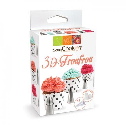 Kit douilles 3D froufou
