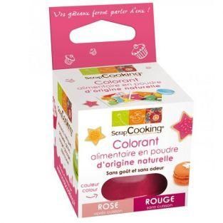 Colorant alimentaire Rouge