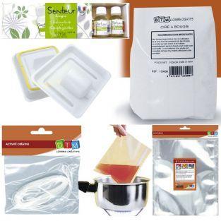 Candle making kit - Ø 8 cm - Fruit aroma