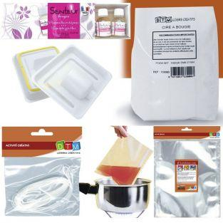 Candle making kit - Ø 8 cm - Aroma flowers & spices