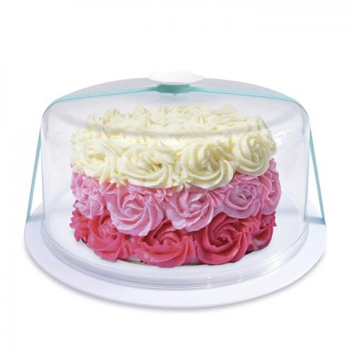 Transparent cake cover Ø 28,5 cm