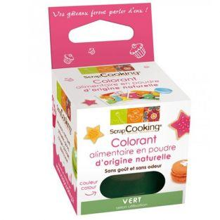 Colorant alimentaire Vert