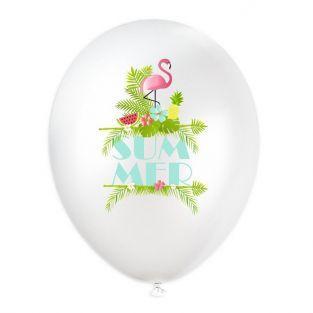 6 globos Ø 28 cm - Verano