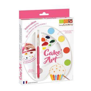 Food paint palette