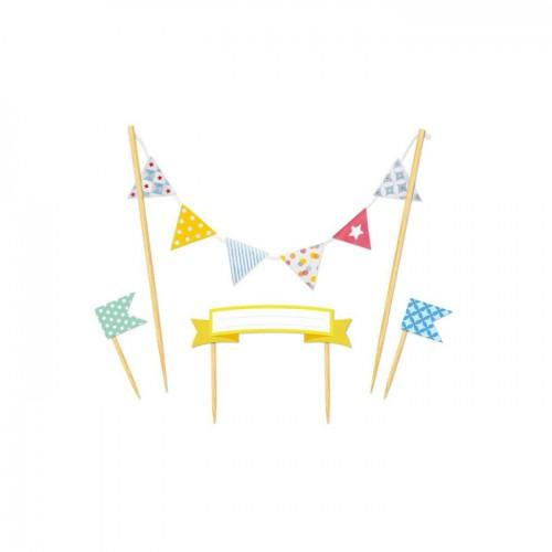 Cake decors banners - Happy Birthday