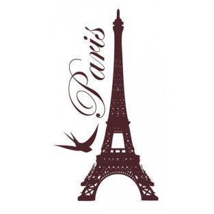 Wood stamp - Paris