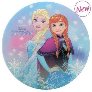 Disco de pan ácimo comestible - Frozen El Reino de Hielo - Elsa & Anna