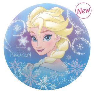 Disco de pan ácimo comestible - Frozen El Reino de Hielo - Elsa