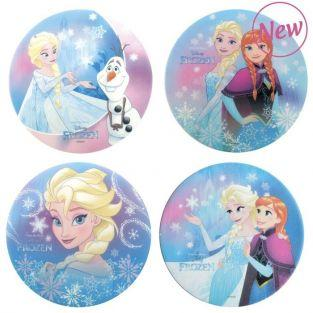 4 Edible wafer disks - Frozen