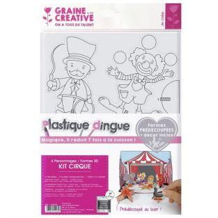 Shrink Plastic Kit - 3D Theater - Circus
