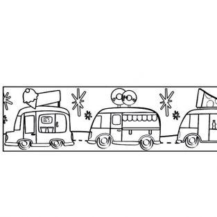 Customizable Masking tape - Vans 4,6 cm x 5 m
