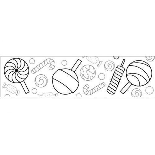 Customizable Masking tape - Candies 4,6 cm x 5 m