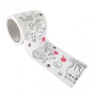 Masking tape para personalizar - Gatos 4,6 cm x 5 m