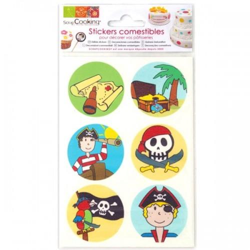 Stickers alimentaires Pirate