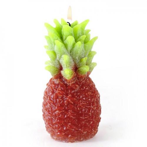 Moule à bougie en latex - Ananas
